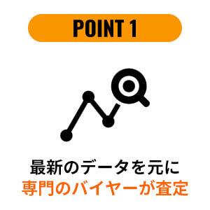選ばれる理由|POINT1
